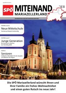 Miteinand im Mariazellerland: Ausgabe Dezember 2015